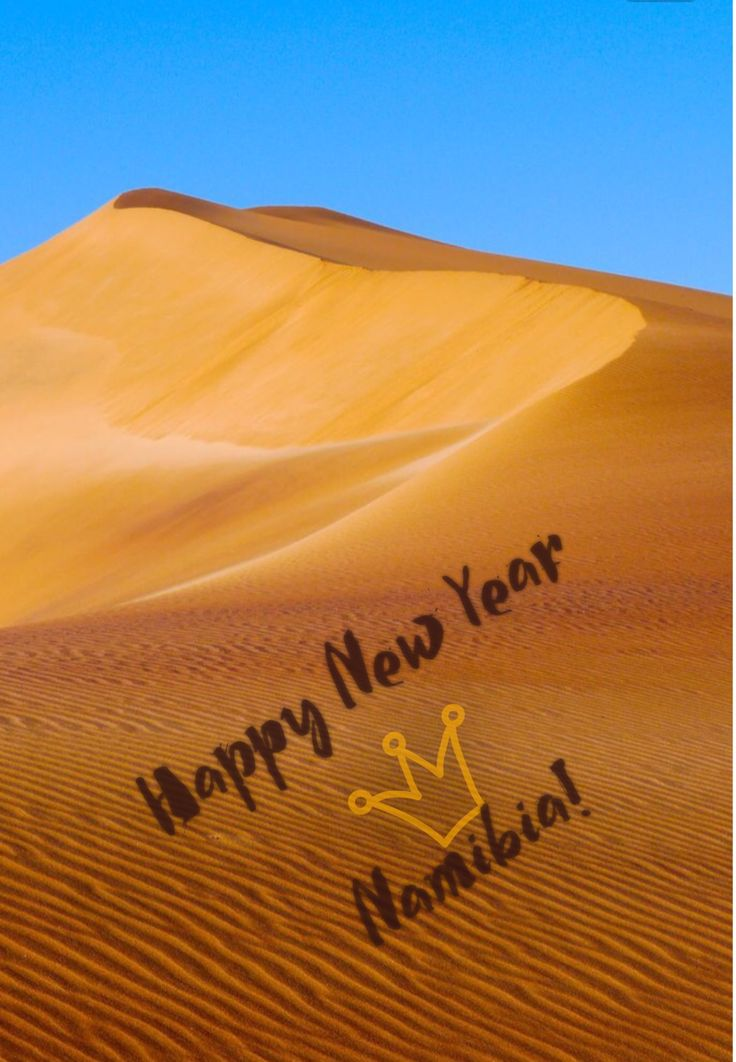 #Happy #New #Year #Namibia #2017 , your next #destination ?
