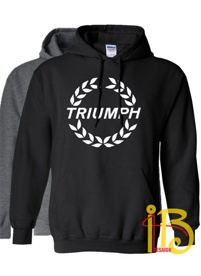 Triumph+Motorcycle+Logo+Unisex+Hoodie