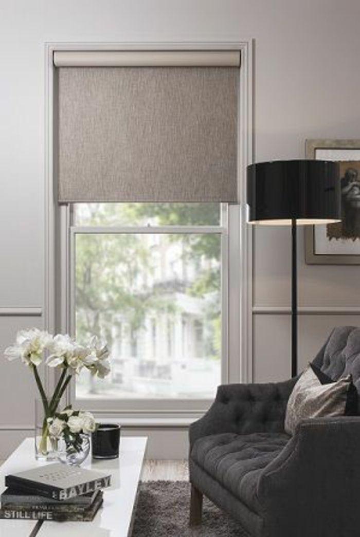 Les 25 meilleures id es de la cat gorie rideau velux sur for Habillage fenetre baie window