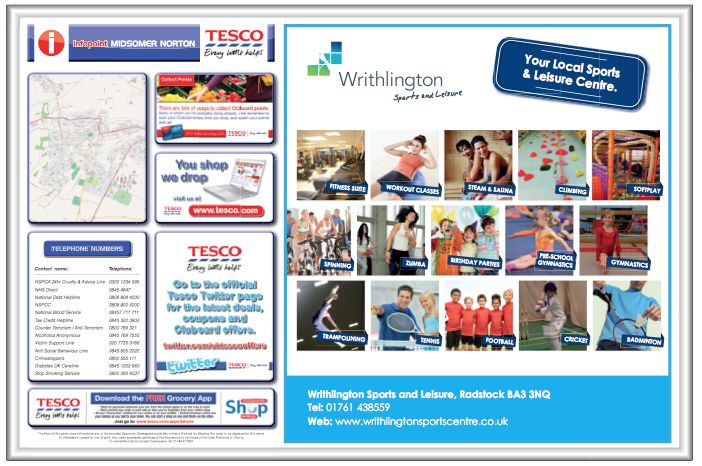 Health clubs have more members when they advertise with Tesco.