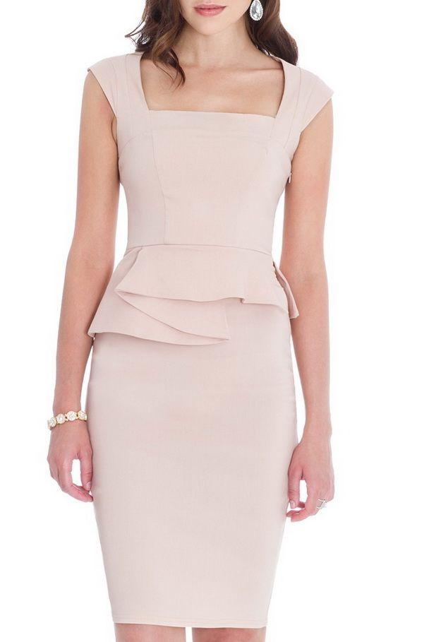 vestido p 233 plum crema mayorista de moda mujer mayorista de