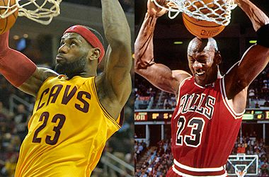 LeBron James a much better bet than Jordan ever was in close-out games - 05-13-2015
