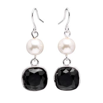 Bisuteria Al Por Mayor Crystal Jewelry Women Crystal Pearl Drop Earrings