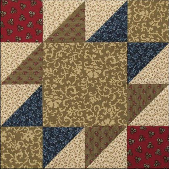 Civil War Quilts: Westering Women Block 2 Indian Territory