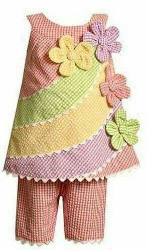 The multiple colour flowers dress.
