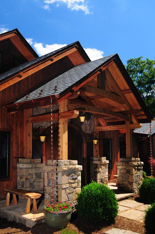 Entry Ways Of Timber Frame Homes Shopbuilt