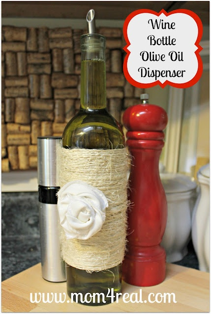 Wine Bottle Olive Oil Dispenser
