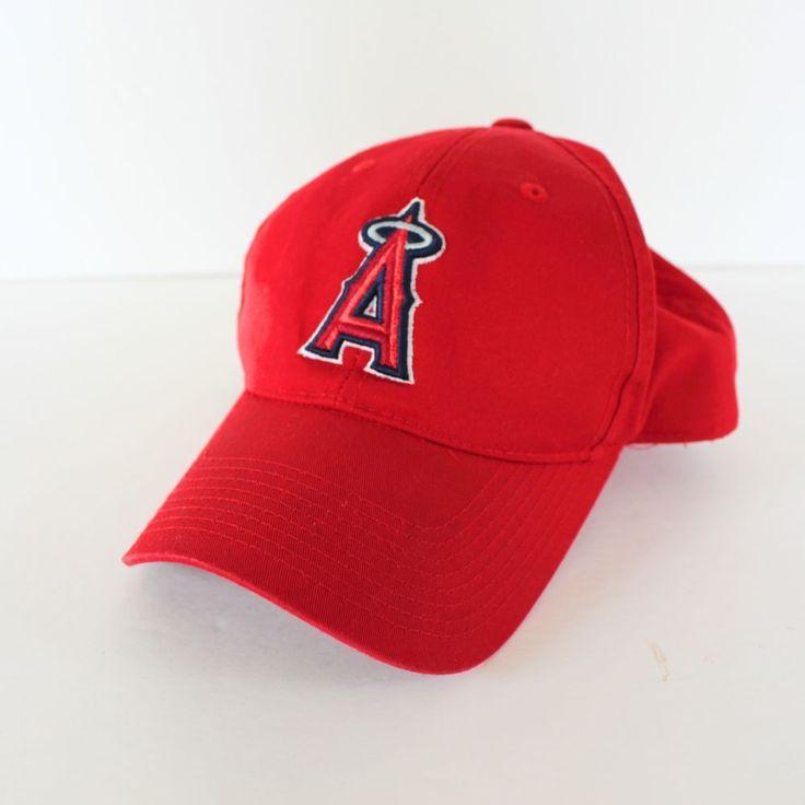 Los Angeles Angels Hat Cap Signed Embroidered Snapback Baseball  #OutdoorCap #LosAngelesAngels
