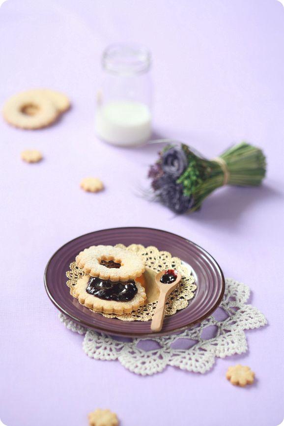 Verdade de sabor: Печенье с джемом / Biscoitos recheados com geléia