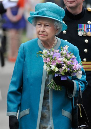 Queen Elizabeth, June 30, 2014 in Angela Kelly | Royal Hats.....Queen Elizabeth and Duke of Edinburgh Arrive in Scotland....Posted on June 30, 2014 by HatQueen