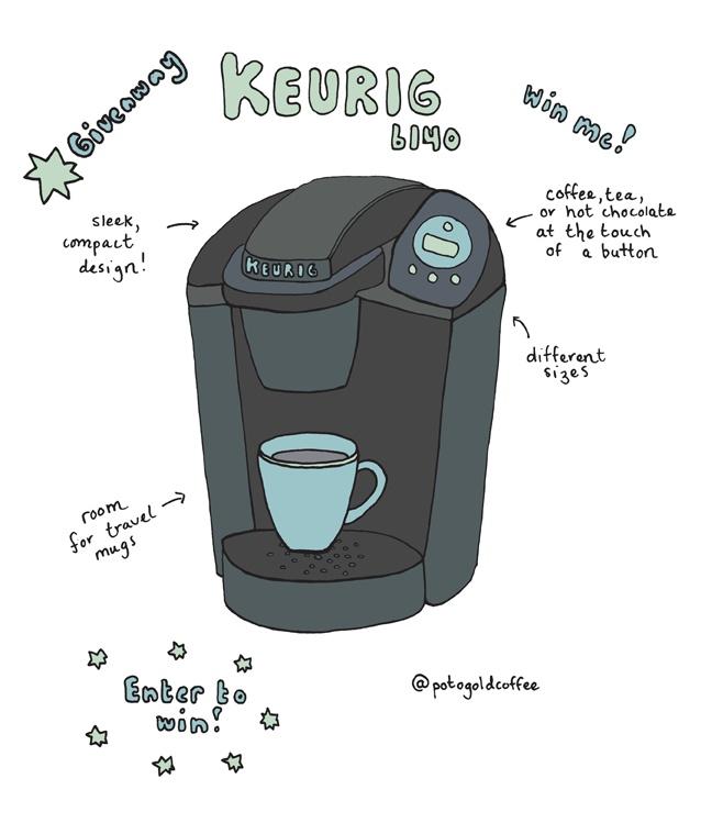 Keurig Coffee Maker Definition : Our original illustration of @Keurig Brewer Incredible Coffee Maker Designs Pinterest ...