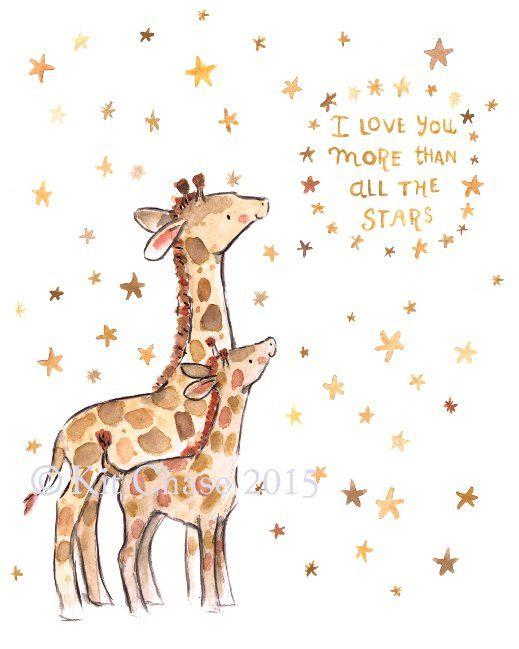 i love you -- giraffe