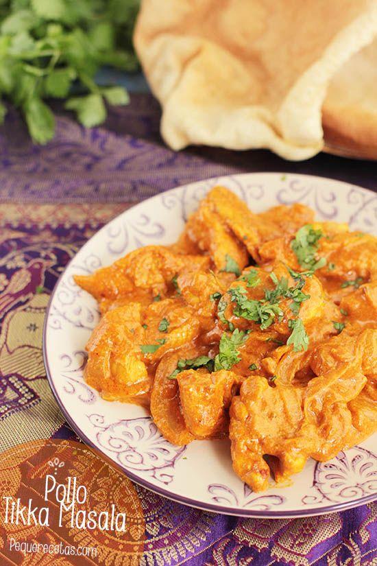 Os enseñamos a hacer una receta exótica: pollo Tikka Masala. Una receta paso a paso que gustará a toda la familia.