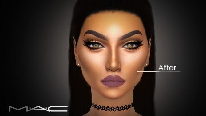 Bronzer 01 at MAC Cosimetics via Sims 4 Updates