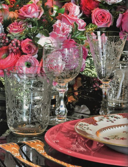 The Pink Pagoda: Spring Table Settings and Easter Traditions