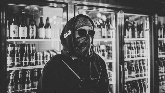 Sunglasses Monochrome Beer Gangster Mask Wallpaper Gangster Rap Wallpaper Gangster Rap