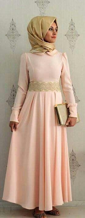 Lichte rose prachtige jurk