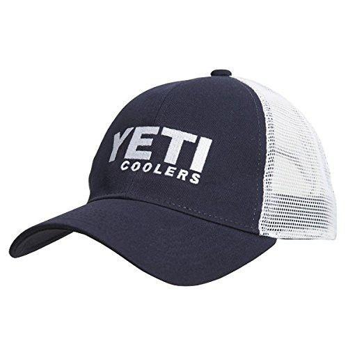 YETI Navy Trucker Hat Cooler