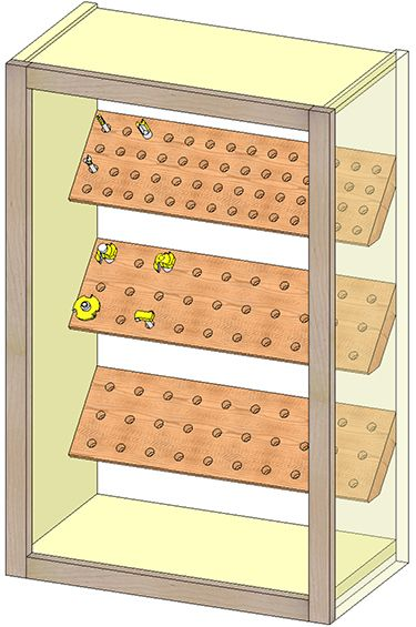 Router Bit Storage Cabinet Build Wood Stuff Router