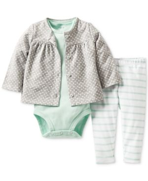 So cute!  #Grey polka dots & #mint stripes http://rstyle.me/~1Fxlw