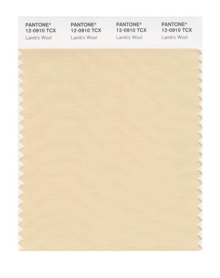 Pantone Smart Swatch 12-0910 Lamb's Wool, use as neutral
