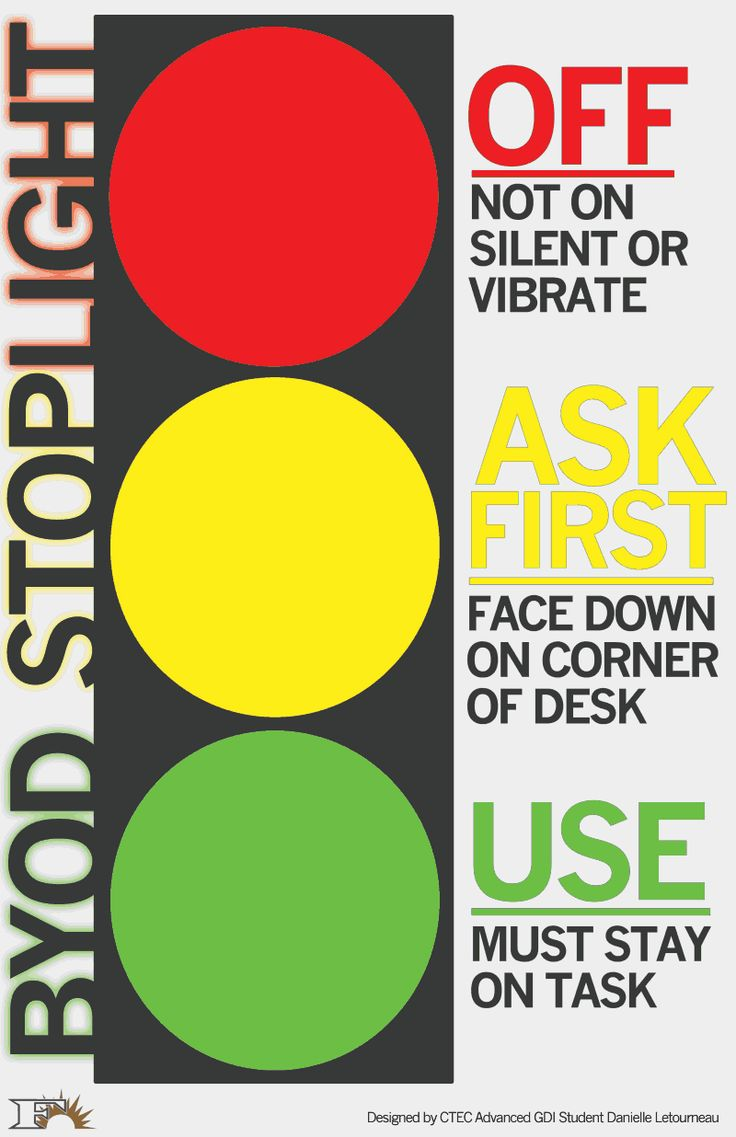 Byod Stoplight Letourneau Byod1 Pdf Ideas For The