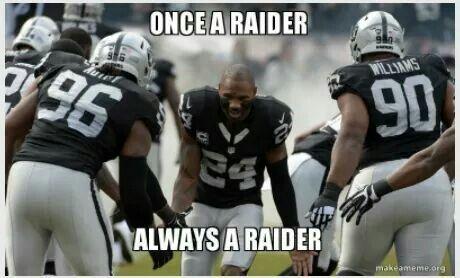 Once a Raider always a Raider