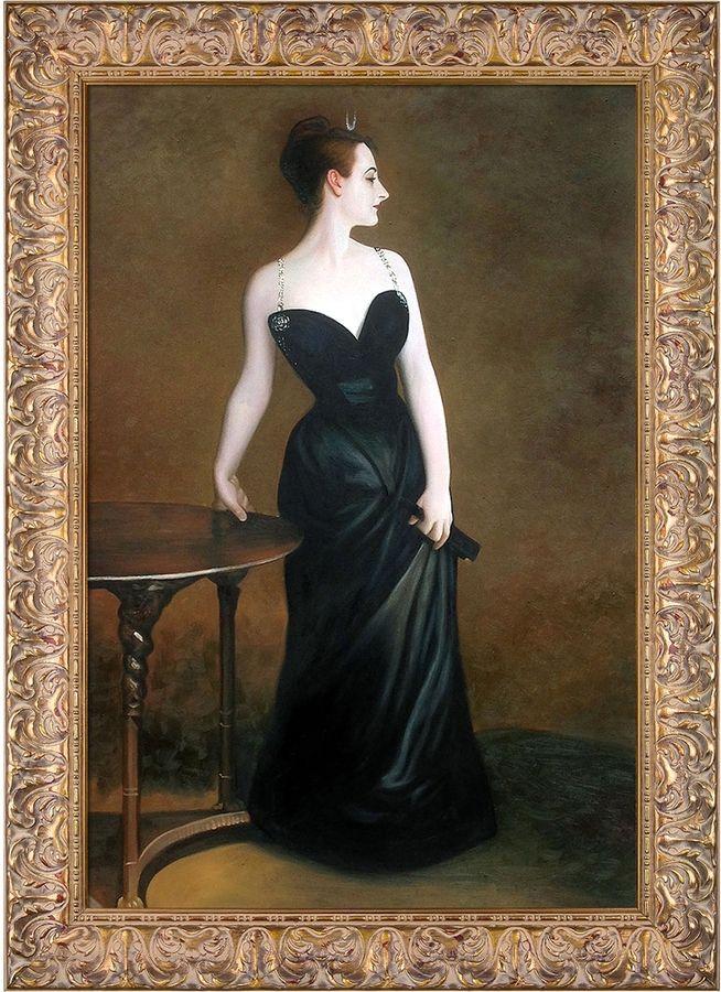 Overstock Art Portrait of Madame X by John Singer Sargent (Framed Canvas)