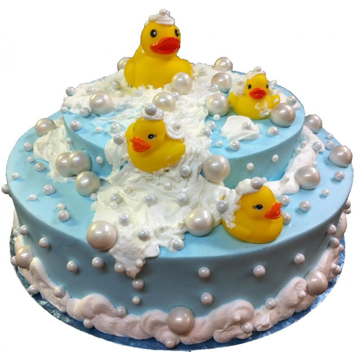 Duck Cake, Baby Shower Cupcakes For Boy And Ducky