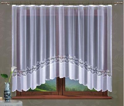 Firana gotowa Allegrina 2 rozmiar 300 x 160 cm