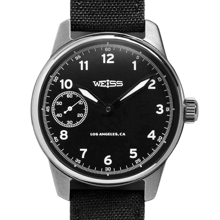 American Issue Field Watch | Black Dial on Black Cordura with CAL 1003