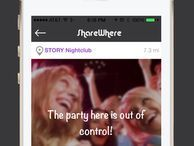ShareWhere -- confess to nearby strangers (you know you want to) The latest secrets-focused app believes it's different -- because you share your most stunning secrets anonymously with other users who are physically near you.