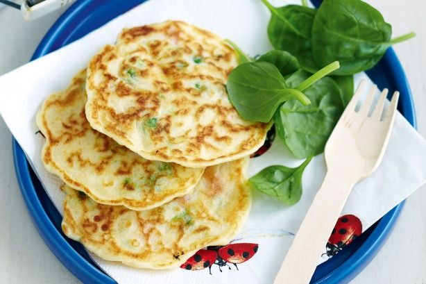 Great hot or cold, these pikelets are easy to make and perfect for school lunchboxes.