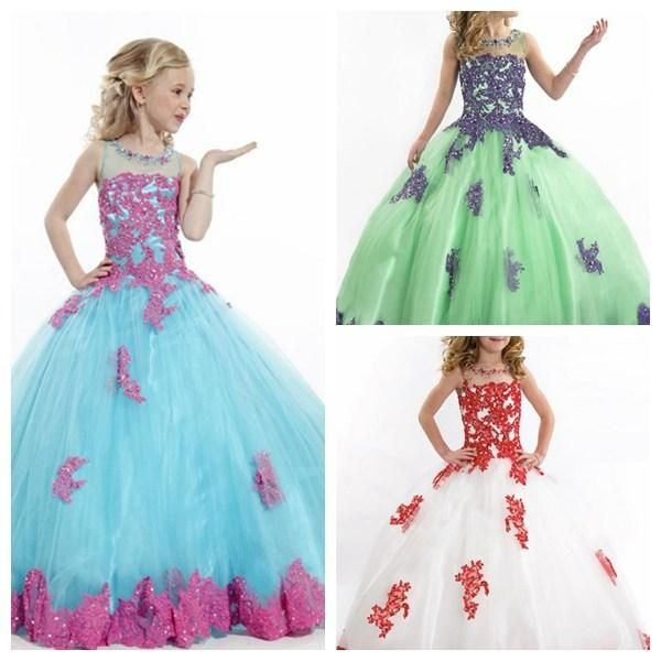 Luxury Girl S Pageant Dresses For Teens Floor Length