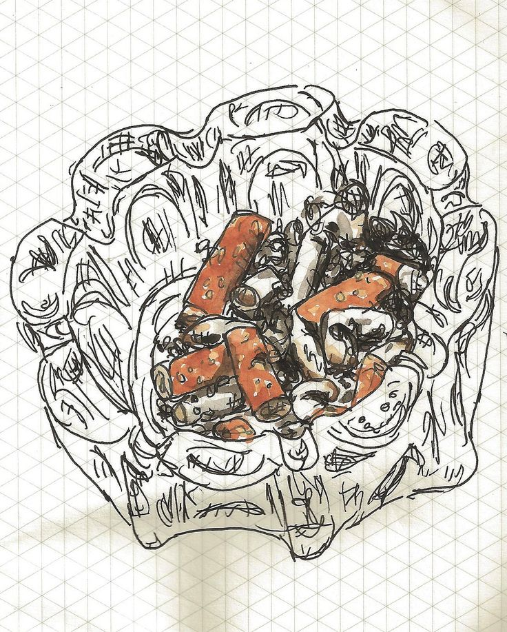 Ashtray http://cargocollective.com/marianasantos http://marianasantosillustration.wordpress.com