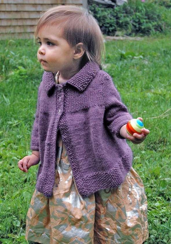 Moppet Baby Swing Coat - free pattern