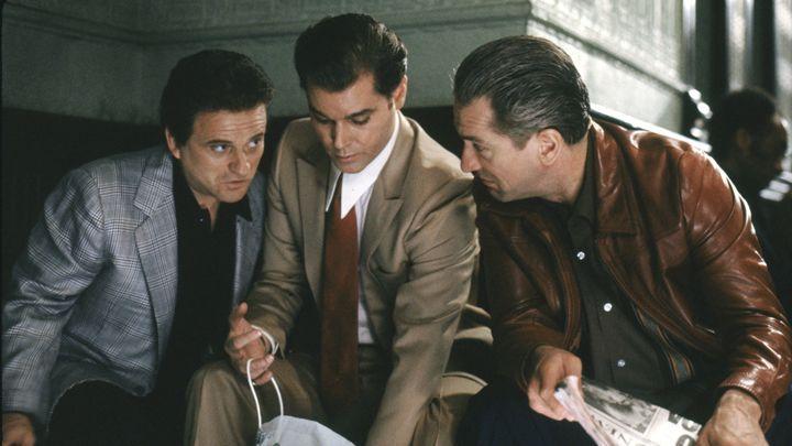 Joe Peshi, Ray Liotta, and Robert DeNiro