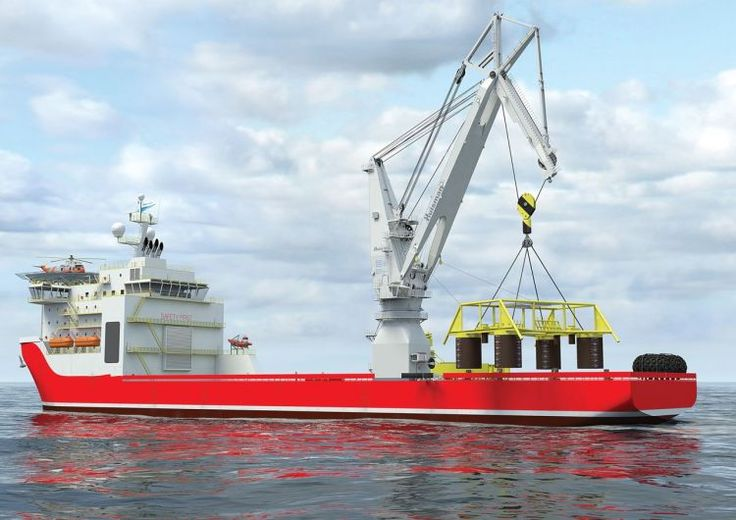 Huisman introduces the 'Rope Luffing Knuckle Boom Crane' at the OTC