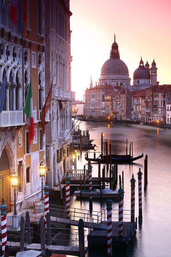 Venice, Italy : Grand Canal