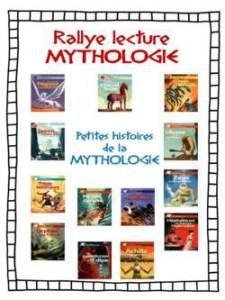"""Rallye lecture """" Les petites histoires de la mythologie"""""""