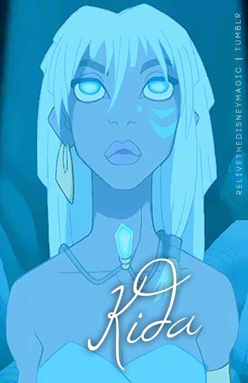"""Kida was my favorite Disney princess, actually.  I musta watched """"Atlantis"""" a hundred times when I was eight."""