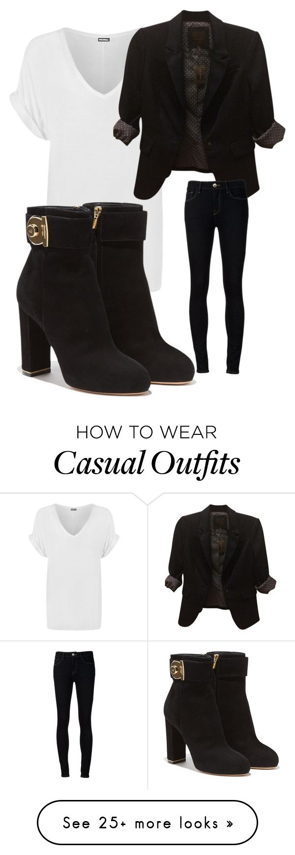 """""""Casual yet put together"""" by leeleeshantay on Polyvore featuring WearAll, The Limited, Ström and Salvatore Ferragamo"""