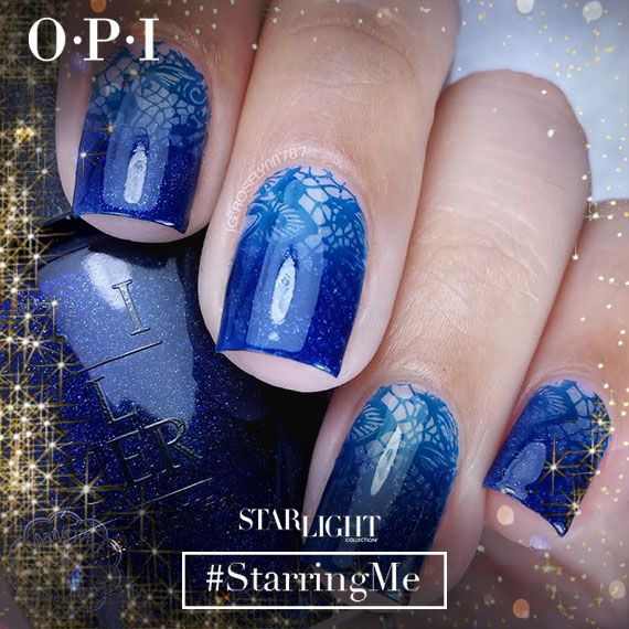 Today's ‪#‎OPIStarlight‬ Look of the Day is from Roselynn M - featuring her laced-up, gradient mani done with her Preen.Me VIP gifts from OPI. Check out the other nailspirations you'd love here: