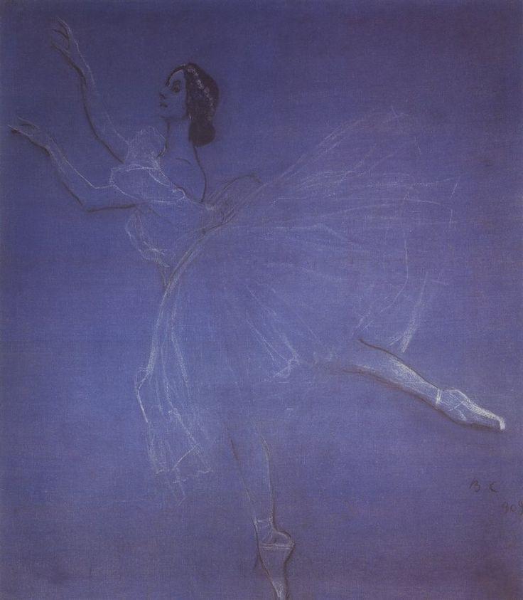 Серов В.. Анна Павлова в балете