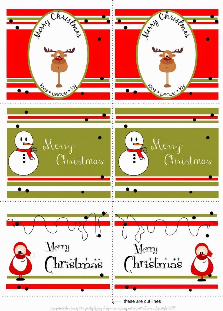 Christmas Gift Tags, Free Printables|No comments|{ Free Printables } - Festive Gift TagsbyHeather de BruinFriday, December 05, 2014{ Free Printables } - Festive Gift Tags