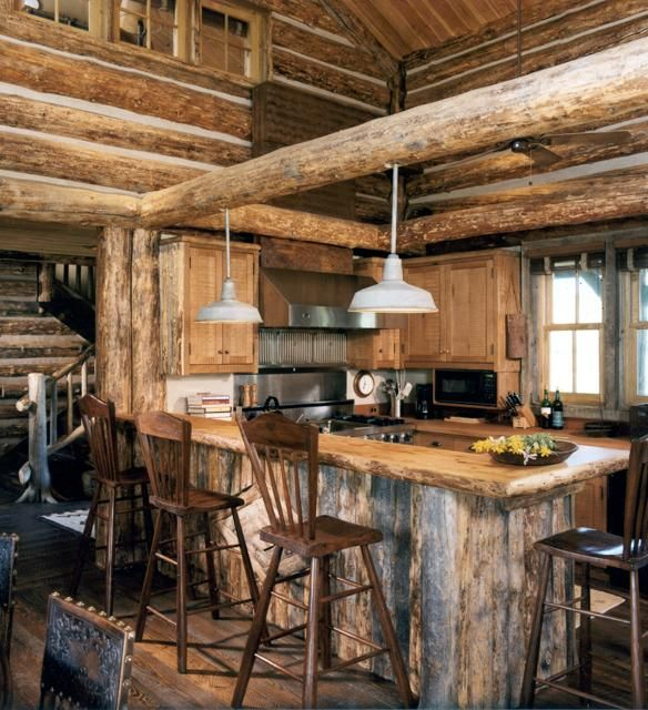 212 best images about rustic country farmhouse kitchens for Small rustic kitchen ideas