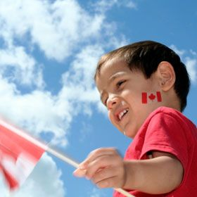 Canada Day Party ideas (cakes, food, activities and loot & decor)