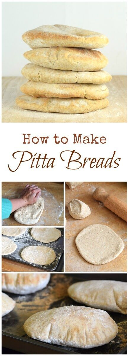 How to make your own pitta breads - easy pitta bread recipe made with spelt and…