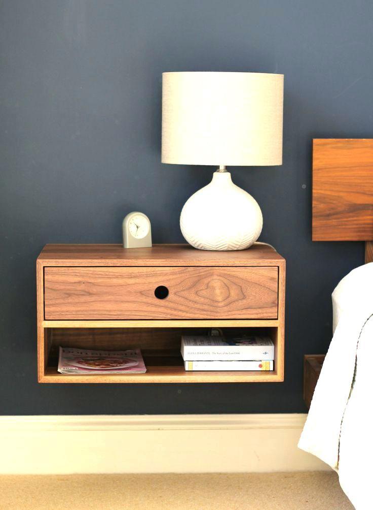 wall mounted bedside table beautiful vintage mid century modern bedroom  design ideas modern bedside wall mounted