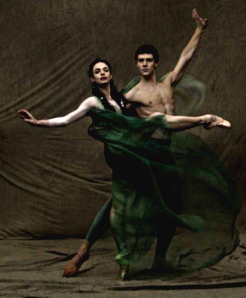 Alessandra Ferri and Roberto Bolle.
